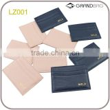 Best Promotional Gifts Custom Credit Card Holder / leather Card Case / leather Cedit Card Cover