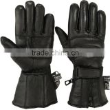 MRX Genuine Leather Motorcycle Gloves Waterproof Thinsulate Motorbike Biker Glove