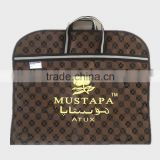 Suit Bag Leather Business Travel Garment Protector Foldable Clothes Bags