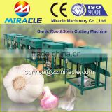 Garlic roots cutter machine from garlic process plant