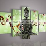 Top Artist Hand-painted Modern Abstract Portrait Oil Painting For Wall Decoration Handmade Buddha Oil Painting Decoration
