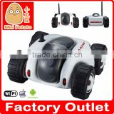 China Manufacture 4CH RC tank Wifi tank With Camera real-time video night vision Phone Control Toy