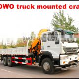 howo 8*4 380hp euro3 35 ton truck crane for sale made in china
