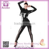 Extreme hot sexy low price fashion exotic leather lingerie
