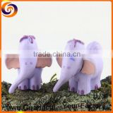 Small resin elephant figurines