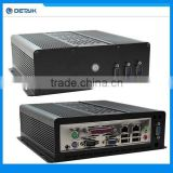 Fanless Mini Industrial PC DBOX525A with Intel Atom D525 Dual Core 1.8Ghz CPU 2GB RAM 250GB HDD Win7 OS