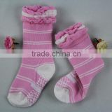 Lovely Cute Baby Girls Socks Custom Design Sweet Love Baby Girls Socks Provide OEM Services