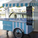 to sell ice cream cart refrigerator air-conditioner food van for sale