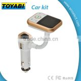 LCD Car Kit MP3 Bluetooth Player Audio FM Transmitter FM Modulator Radio USB Charging and Car Charging