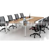 Office Furniture Modern Wooden Conference Meeting Table Specifications (SZ-MT079)
