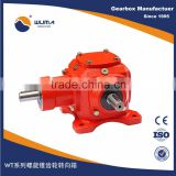 T series double output gearbox for Grain Auger