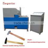 CBJ Auto feeding wooden hammer handle making machine
