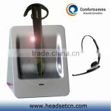 Hot 2.4GHz desk phone and computer call center headband ear hook wireless headset CW-3000