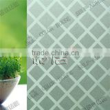 Decorative or laminated pvc embossed 3d glass film