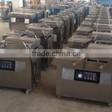 304 Stainless Steel Double chamber vacuum sealing packaging machine for peanut, pork,beef,sea food,tuna fish