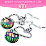 Wholesale 2016 new multi-color candy design beautiful latest model fashion trends earrings for girls