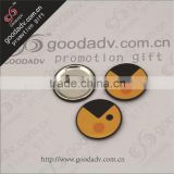 Reputation first GD factory wholesale bulk tin delicate lovely metal badge
