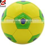 Stocking a lot brazil new design soccer ball,promotion 2014 football cheap price