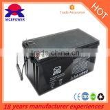 long life deep cycle battery 24V 200Ah agm batterys