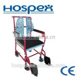 Spine-Care backrest Steel commode chair