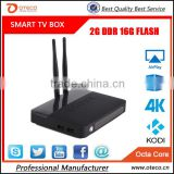 CSA91 Android 5.1 LOLLIPOP TV Box RK3368 Octa Core 2G+16GB Bluetooth 4K Smart Media Player 3 USB Port BT 4.0 WiFi 2 antenna