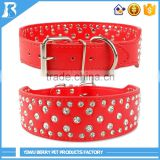 China supplier 5cm Wide Large Size beaded dog collar