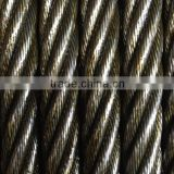 Jiangsu Stainless Steel Wire Rope 7x7 for stranding machine