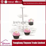 China Alibaba Wholesale Customized Cake Stand Muffin Stand                                                                         Quality Choice