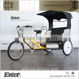 ESTER New rickshaw tricycle/adult bicycle/pedicab bike with LED lights                                                                                         Most Popular