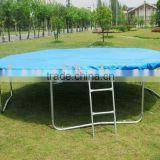 14FT Big Round Trampoline with rain cover and ladder