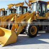 1800kg mini wheel loader 1.8 ton with air conditioner and joystick control for sale