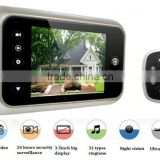 3.5 Inch LCD Video Electronic Doorbell Peephole Viewer security systems