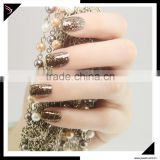 2016 OEM wholesale nail supplies platinum uv gel metal color gel polish /platinum uv gel