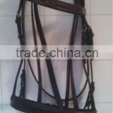 Polo Horse Bridle with reins / Leather Horse Riding Bridle With Reins