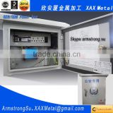 XAX18DB Non standard custom made Restricted Access Telecom Security metal hg distribution box