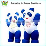 Qute Inflatable giant Cartoons Panda mascot inflatable moving cartoon