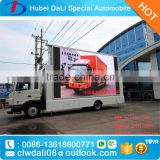Best quality customize led mobile billboards truck
