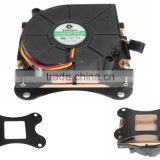 Heatsink Type and copper Material intel 771 cpu cooler fan with Processor Application,12v