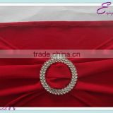 YHA#03 sash band rhinestone buckles - polyester banquet wedding wholesale table cloth cover chair cover sash band