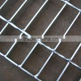 HANQING FACTORY electro galvanized / hot dip galvanized steel grating bar with best service