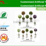 Artificial topiary ball tree/artificial boxwood trees for wedding/artificial trees for shopwindow