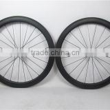 Farsports FSC50CM-25T 50mm* 25mm carbon wheels clincher tubeless compatible , with ED hub + Sapim cx-ray spoke
