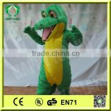 HI CE wholesale dinosaur mascot costume, kids halloween costume