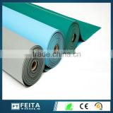 green Antistatic anti-fatigue mats/esd ground rubber mats