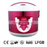 Color stainless steel shell automatic multi function electric rice Cooker