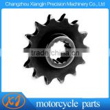 Precision Machining Part Motorcycle Front Steel Sprocket with Your Logo Lasered