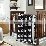 high quality animal pattern cotton knitted throw blanket mutiple pattern