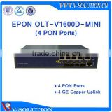 Cheap Layer 3 4 PON EPON OLT Optic Fiber Networking Equipment Optical Line Terminal for ONU