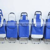 Best Selling Metal and Canvas Trolley,Carry cart trolley for shopping