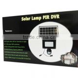 Good price Shenzhen factory made in China CCTV monitor DVR security new solar led hidden camera dvr